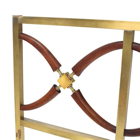 brass queen headboard solid brass carved figural walnut queen size headboard bed