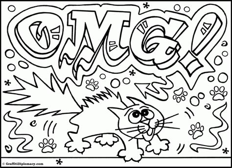 cool coloring pages with words cool coloring pages graffiti coloring home