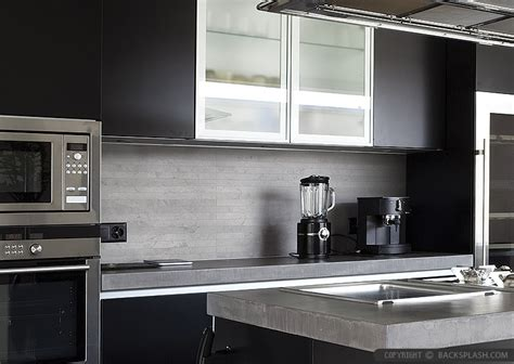 modern backsplash modern kitchen backsplash ideas black gray tiles