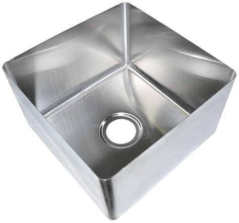 weld in stainless steel sinks bk resources bkfb 2028 14 14 20 quot x28 quot one compartment