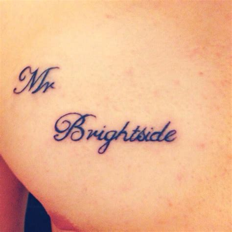brightside tattoo mr brightside ink mr brightside