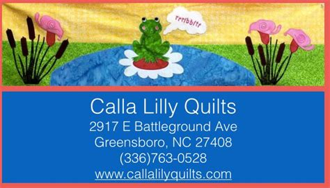 Greensboro Quilt Shops by Carolina Calla Quilts In Greensboro Www