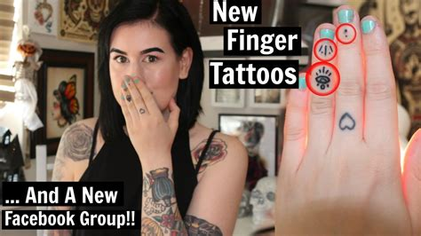 finger tattoo youtube new finger tattoos and facebook group youtube