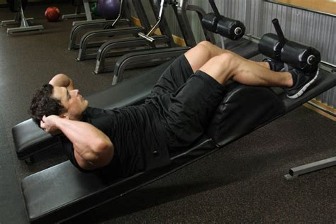 decline crunch exercise guide  video