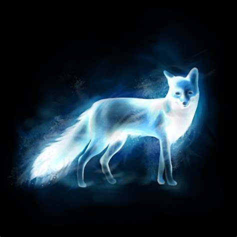 fox patronus by aeviann on deviantart