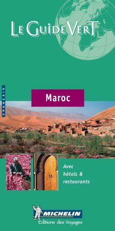 Le Guide Vert Maroc Michelin Green Guide English And