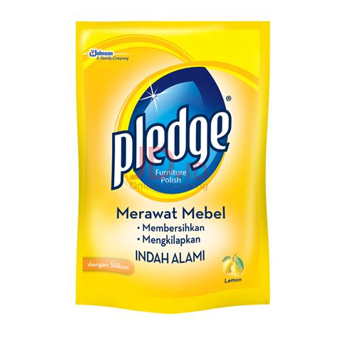 Pledge Lemon Liquid 450ml jual pledge liquid pouch 450ml jd id