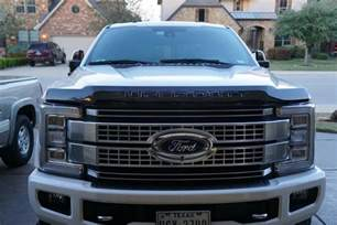 Ford Forum 2017 Duty Ford Deflector Installed Ford Truck