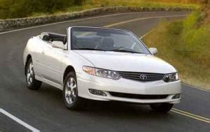 how cars run 2000 toyota solara electronic toll collection used toyota solara overview auction and other wholesale sources