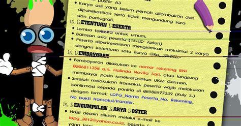 desain grafis universitas negeri info kegiatan nasional lomba desain poster universitas