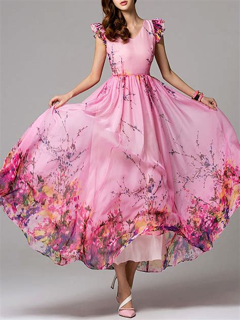 Floral Print Maxi A Line Dress best 25 casual maxi dresses ideas on s