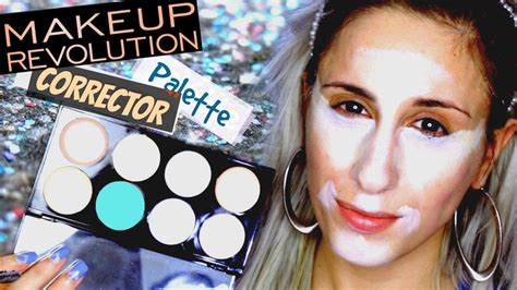 Makeover Corrective Base Makeup makeup revolution ultra base corrector palette review