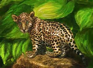 Artof Jaguar Baby Jaguar Digital By Schnetlage