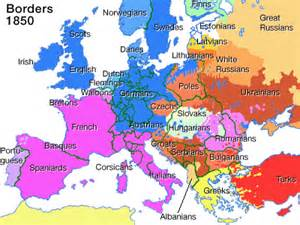 Map Of Europe 1850 by Maps World Map 1850