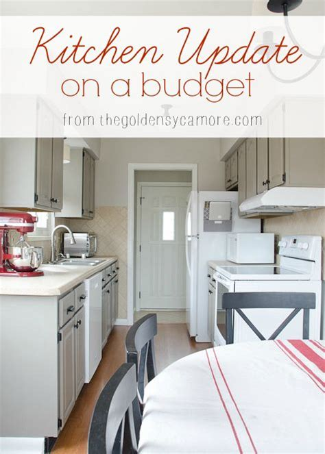 kitchen update on a budget decorating ideas