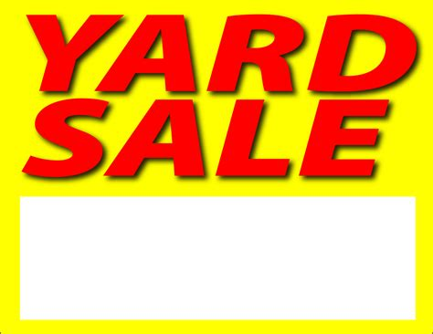 printable yard sale signs free yard sale clip art pictures clipartix