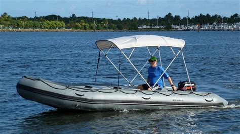 inflatable boat bunnings 18 saturn sd518 inflatable boat with 25hp motor youtube