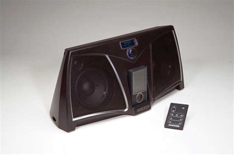 amazoncom kicker zk zune speaker dock black home