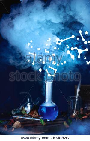 Still Has Magical by Blue Magic Potion Stock Photo Royalty Free Image
