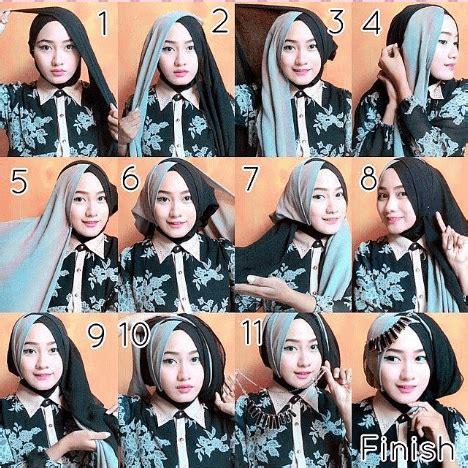 tutorial jilbab wisuda menutupi dada 10 tutorial hijab paris untuk wisuda meski sederhana