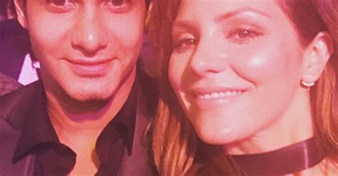 Whats Katharine Mcphees Favorite Perfume by Katharine Mcphee Wishes Boyfriend Elyes Gabel Happy