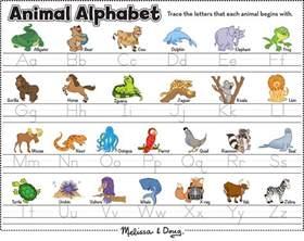 love this animal alphabet printable from melissa amp doug