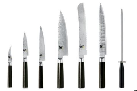 Names Of Knives In The Kitchen Essential Kitchen Knives The Only 3 You Really Need Huffpost