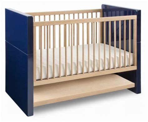 Blue Cribs by Aqua Netto Royal Blue Lacquer Nursery Furniture At Barney