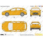 The Blueprintscom  Vector Drawing Ford Focus ST