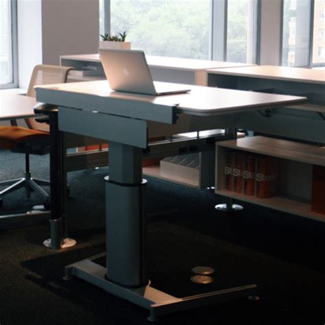 Steelcase Airtouch Desk by Standing Desk Shootout Steelcase Airtouch Height