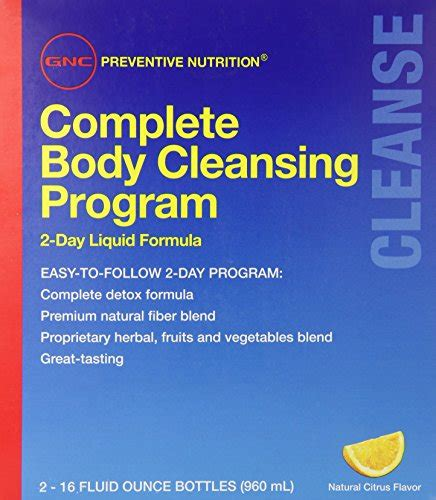 Fiber Care Fiber Cleanse 2 Day Detox Program by Complete Archives Running Supplement
