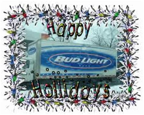 the golf report happy holidays from your bud light team