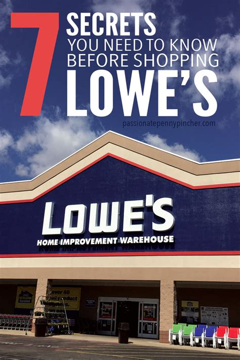 Lowes Gift Card Return Policy - 7 secrets you need to know before shopping lowe s passionate penny pincher