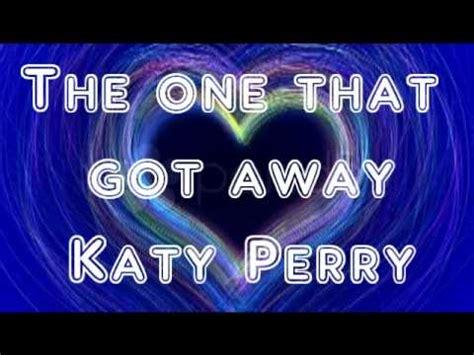 matching tattoos katy perry lyrics the one that got away katy perry lyrics in description