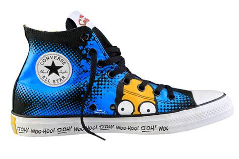 Harga Converse X The Simpsons converse x the simpsons abx designer