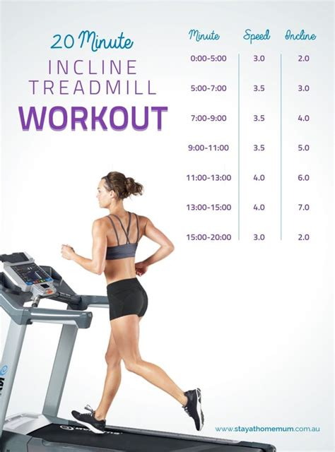 best 25 treadmill incline workout ideas on