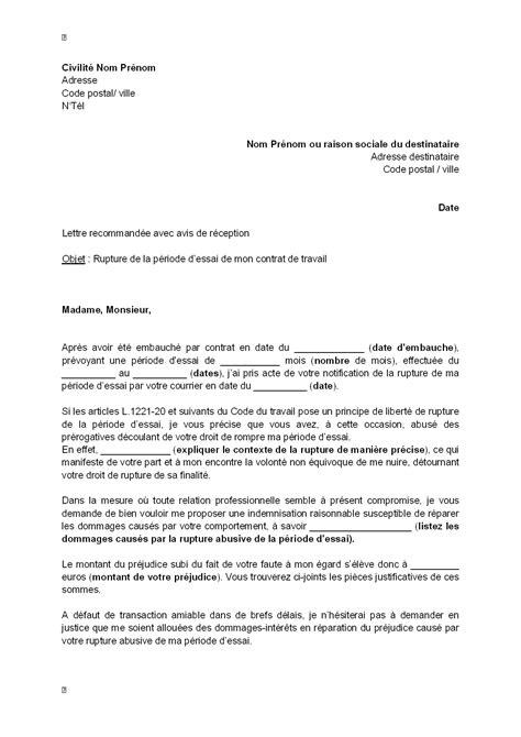 Modele Lettre Avertissement Non Respect Consignes