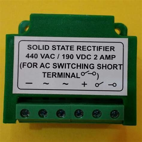 what are solid state diodes solid state rectifiers solid state rectifier manufacturer from vadodara