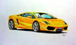 Drawing Of Lamborghini Gallardo Lamborghini Aventador Drawings In Pencil