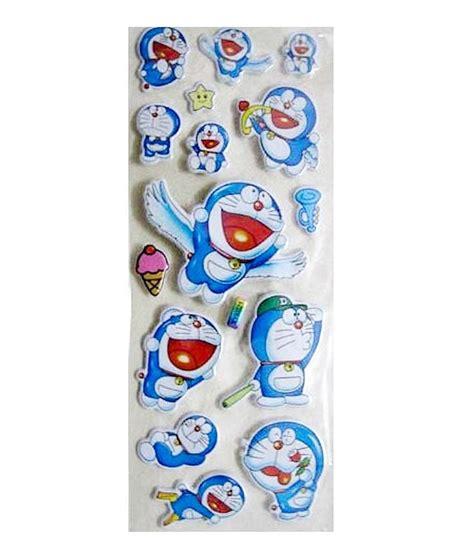 Sticker Set Doraemon By Paupery birthday giftwala doraemon stickers set of 5 buy