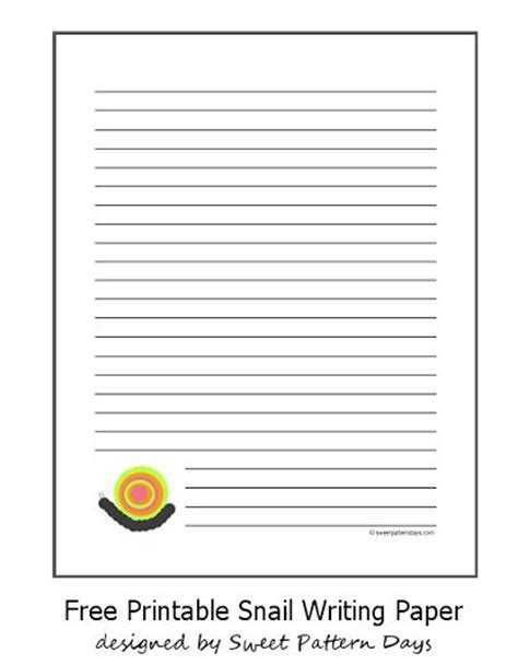 printable insect writing paper 63 best images about snail unit on pinterest the bubble