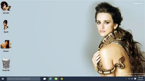 actress hot themes windows 7 sexy penelope cruz theme for windows 7 8 8 1 10