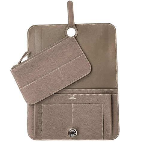 Hermes Wallet by Hermes Dogon Duo Wallet At 1stdibs
