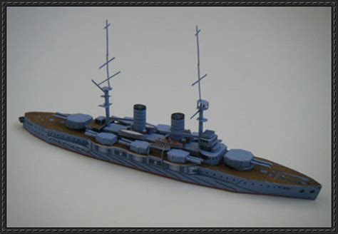 Papercraft Battleship - papercraftsquare new paper craft japanese