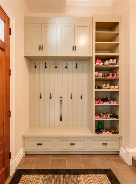 Kitchen Cabinet Examples by Mud Rooms Traditional Entry Other Metro By