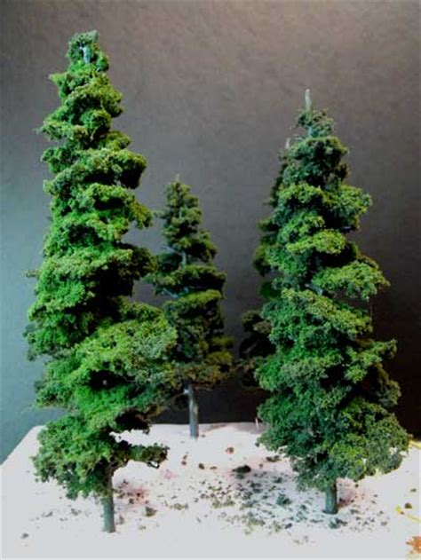 woodland trees pine tree kits by woodland scenics make excellent