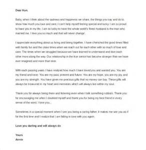 Thank You Love Letter Husband 12 love letter templates to my husband free sample example