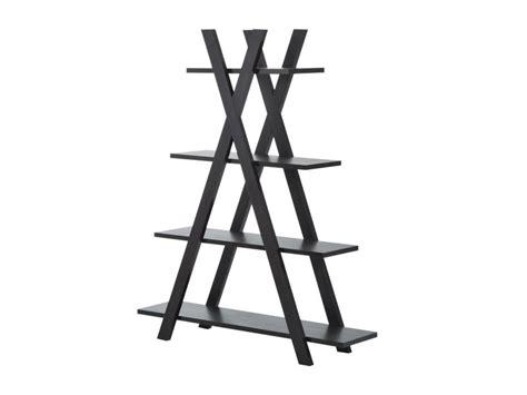 etagere livre 150 201 tag 232 re design pyramidal 4 niveaux 120 x 36 x 150 cm