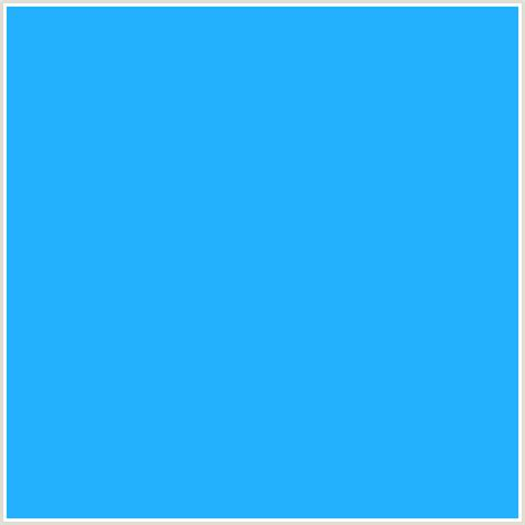 dodger blue 23b0fc hex color rgb 35 176 252 blue dodger blue