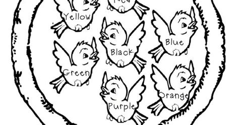 preschool coloring pages cing sing a song of sixpence color by word page preschool